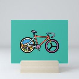 Bike Life Mini Art Print