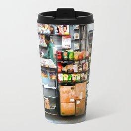 Subway News Stand Vendor Travel Mug