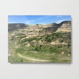 North Dakota Metal Print