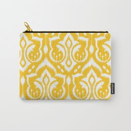 Ikat Damask Carry-All Pouch
