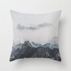 Calm - landscape photography Throw Pillow