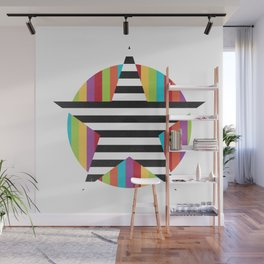 Star & Stripes Wall Mural
