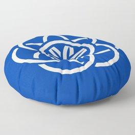 International Flag of Planet Earth Floor Pillow