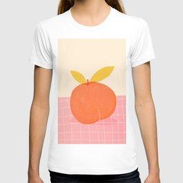 Abstraction_PEACH_LOVE_PINK_DRAWING_POP_ART_001A T-shirt