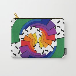Rainbow Slices Carry-All Pouch