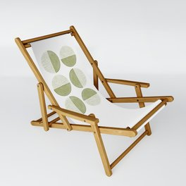 Labyrinth - Moss Sling Chair