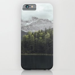 Slow days - Landscape Photography iPhone Case