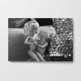 Girlfriends. Metal Print