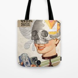 Artificial smiles Tote Bag