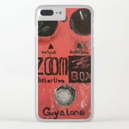 Guyatone PS 102 Zoom Box Distortion Clear iPhone Case