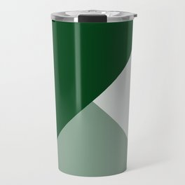 Trinity Color Block Forest Green 08441C Travel Mug