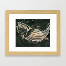 Coelacanth Framed Art Print