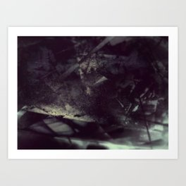 Acrylic Midnight Art Print