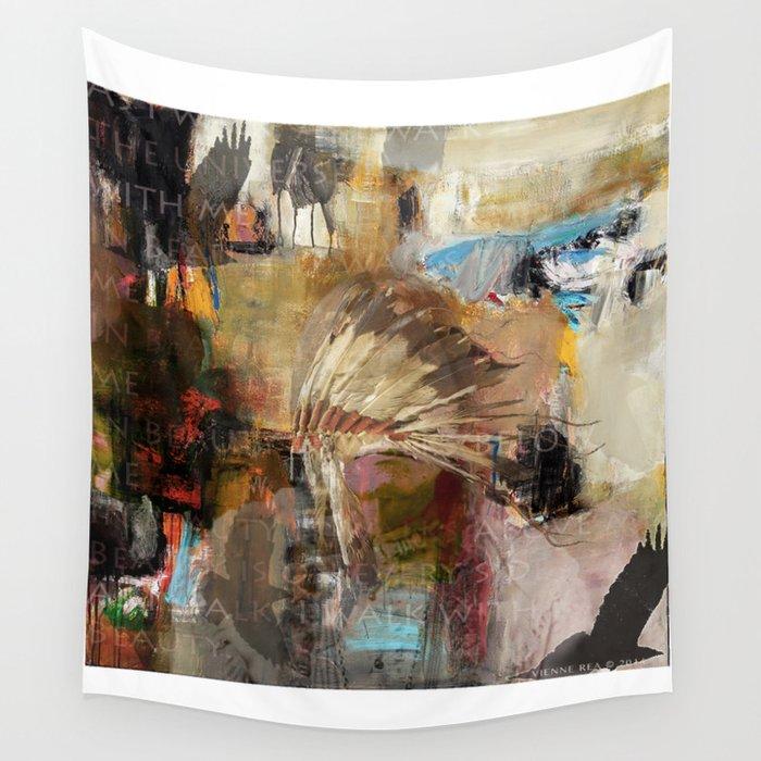 'WALK IN BEAUTY' Wall Tapestry