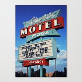 Starlight Motel 2 Canvas Print