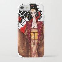 mulan iPhone & iPod Cases featuring Mulan by artwaste