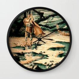 Viking Man Wall Clock