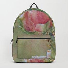 Desert Cactus Flowers Backpack