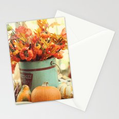 The Autumn table Stationery Cards