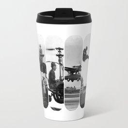 photo montage dans les airs Travel Mug