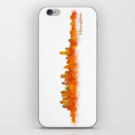 Houston City Skyline Hq v2 iPhone Skin