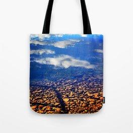 Sky Pebbles Tote Bag