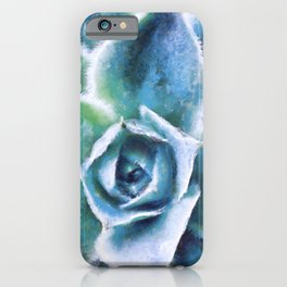 Afternoon Rush Succulent painting iPhone Case