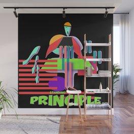 STANDING ON PRINCIPLE Wall Mural