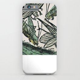 Locusts iPhone Case