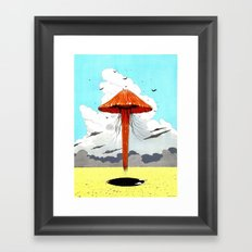 méduse volante #1 Framed Art Print