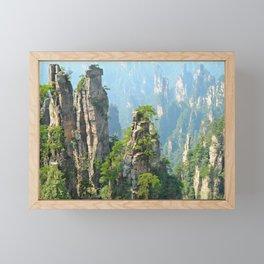 Wulingyuan Scenic Area, China Framed Mini Art Print