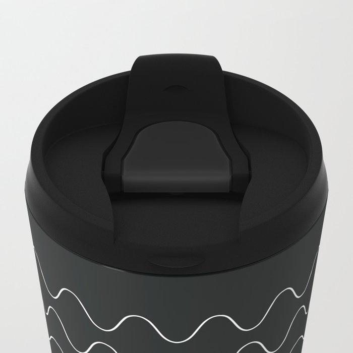 between waves Metal Travel Mug