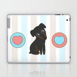 Rylee the Min Pin Laptop & iPad Skin