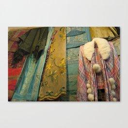 Fabrics! Canvas Print