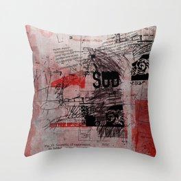 misprint 102 Throw Pillow