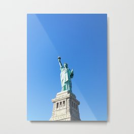 151. Liberty Girl, New York Metal Print