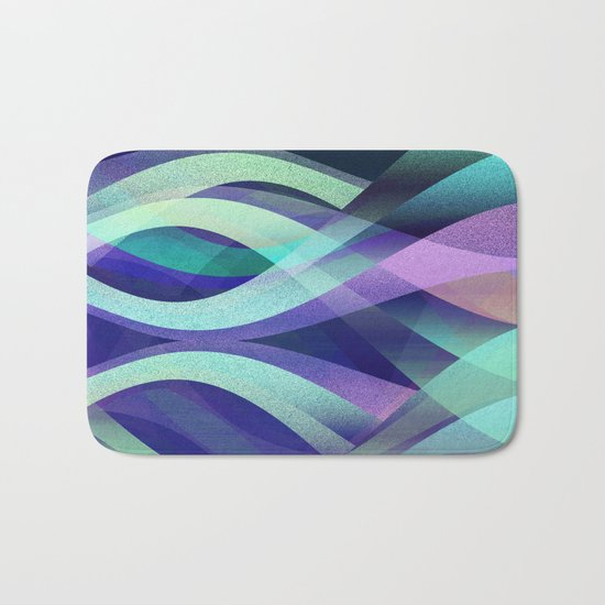 Abstract background G142 Bath Mat