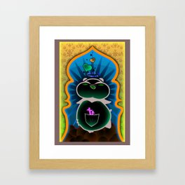 Boom Boom's Halo Framed Art Print