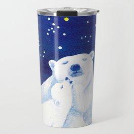 Polar bears, arctic animals Travel Mug