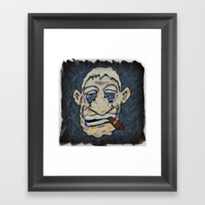 Stogey Framed Art Print