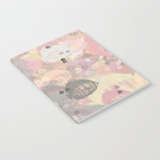 Fish Abstract Sea Life Notebook