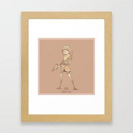 Lucca Framed Art Print