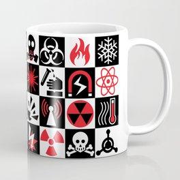 Hazard Danger Icons Coffee Mug