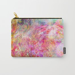 Serenity Abstract Painting Carry-All Pouch