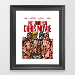 Not Another Chris Movie Framed Art Print