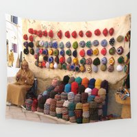 morocco Wall Tapestries featuring Crochet, Morocco by Mr and Mrs Quirynen