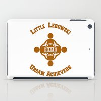 lebowski iPad Cases featuring Little Lebowski Urban Achievers  |  The Big Lebowski by Silvio Ledbetter