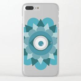 Mirada Colorida Clear iPhone Case