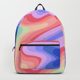 Psychedelic Rainbow 1 Backpack