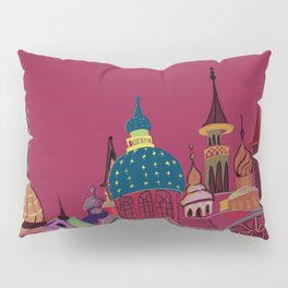 Russia in color Pillow Sham